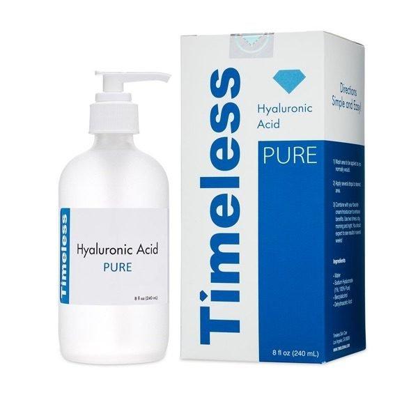 timeless Hyaluronic Acid Serum 100% Pure Refill 8 oz HYALURONIC ACID SERUM 100% PURE REFILL 8 OZ 2